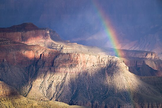 Evening Rainbow by Robert Dettman