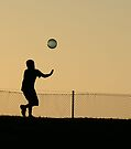 Child Playing Ball by Vicki73