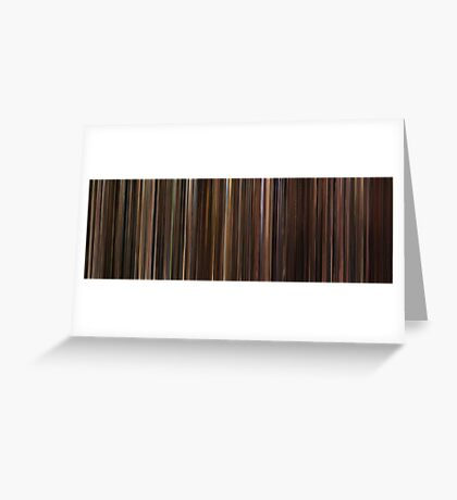 Moviebarcode: The Godfather Trilogy (1972-1990) Greeting Card