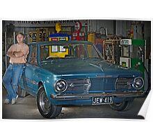 Auto Garage Poster