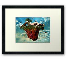 Gaia's Beginnings Framed Print