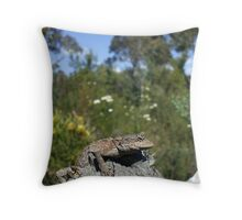 Mountain Dragon Throw Pillow