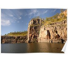 The unforgettable beauty of Katherine Gorge Poster