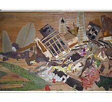 Destruction due to Calamity  Photographic Print