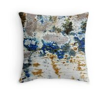 Windy Day by the Sea Throw Pillow