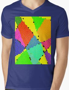 Colour Anyone? Mens V-Neck T-Shirt