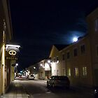  Full Moon above the Queen Street of Alingss by HELUA