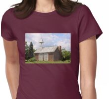 Werley's Corner Schoolhouse Womens Fitted T-Shirt