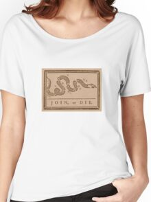 Join or Die Women's Relaxed Fit T-Shirt