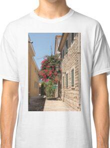 The streets of Herceg Novi Classic T-Shirt