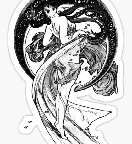Mucha Dance Sticker