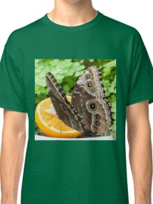 butterffly on fruit Classic T-Shirt