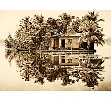 In the Backwaters Photographic Print