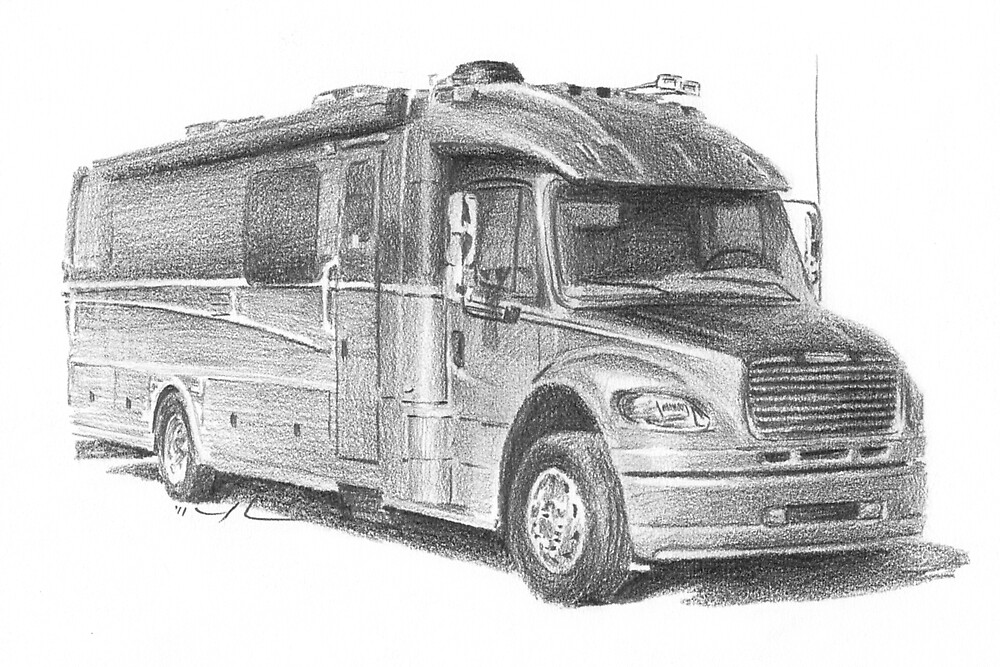 Motor Home by Mike Theuer