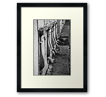 Walls of rememberance Framed Print