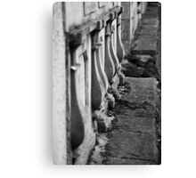 Walls of rememberance Canvas Print