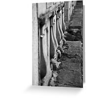 Walls of rememberance Greeting Card
