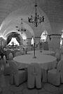 The Banquet Hall - Puglia Italy by Debbie Pinard