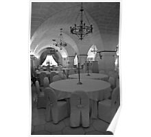 The Banquet Hall - Puglia Italy Poster