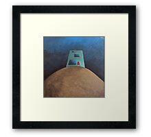 Not This House Framed Print
