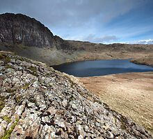 Pavey Ark & Stickle Tarn by SteveMG