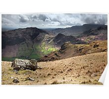 Side Pike From Stickle Tarn Poster