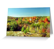 Connecticut Fall Foliage Greeting Card