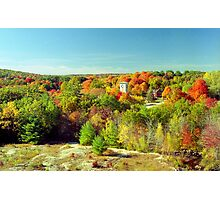 Connecticut Fall Foliage Photographic Print