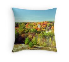 Connecticut Fall Foliage Throw Pillow