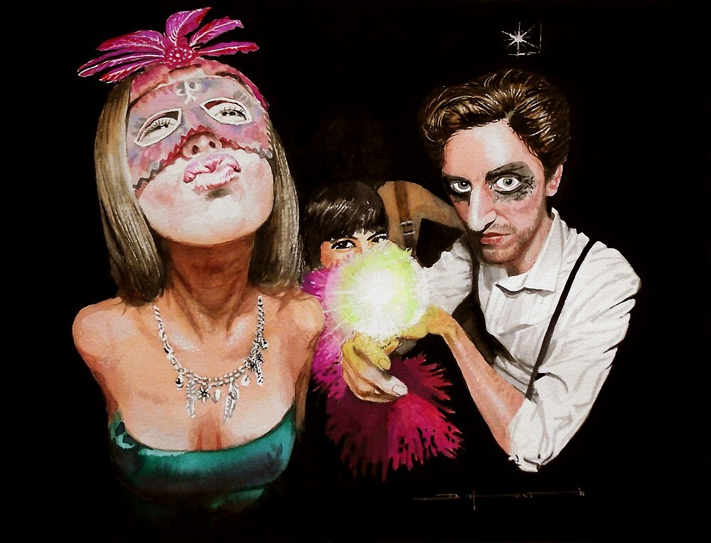 Masked Ball #2 by Douglas Hunt