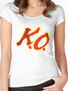 KO Kevin Owens Women's Fitted Scoop T-Shirt