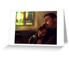 Vincent & Catherine - Chasing ghost Greeting Card