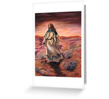 Women Who Run With Wolves Greeting Card