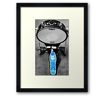 Base Drum Framed Print