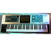 Roland Keyboard Photographic Print