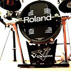 Roland V Base Drum by AmandaJanePhoto