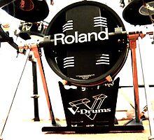 Roland V Base Drum by AmandaJanePhoto
