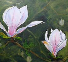 Magnolia Blossom by Carole Russell