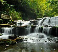 Lower Busby Falls  by LynnRoebuck