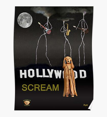 Hollywood Scream Poster