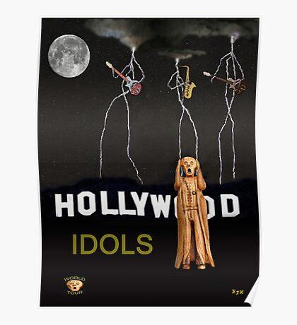 Hollywood Idols Poster