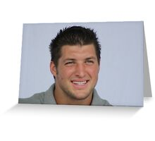 tim tebow in ft pierce Greeting Card