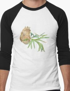 Staghorn Fern Men's Baseball ¾ T-Shirt