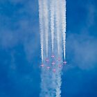 Red Arrows by Jim Orr