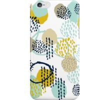Jamm - abstract art painting brushstrokes modern minimal paint trendy colors hipster gender neutral  iPhone Case/Skin
