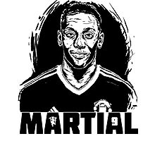 Anthony Martial by SuperFZ