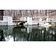 Hills and Dales bridge Photographic Print
