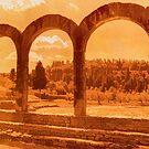 Roman Arches at Fiesole by Nigel Fletcher-Jones