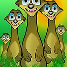 Meerkats by shall