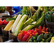 Farmer's Market Bounty Photographic Print
